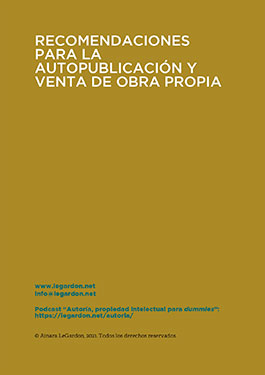 Autopublicación y gestión de una obra