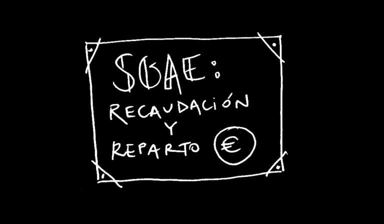 SGAE, recaudación y reparto