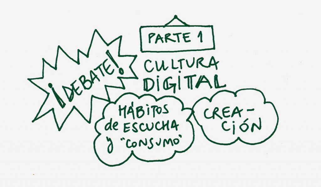 Autoría, cultura digital, hábitos de creación y consumo