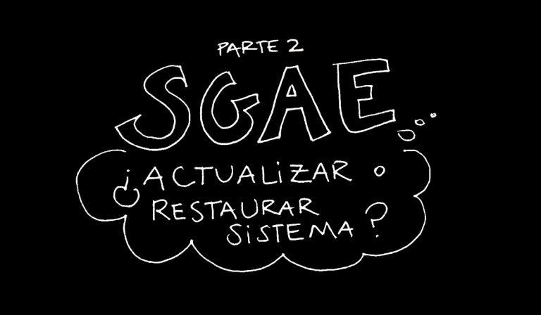 SGAE, Autoría 40
